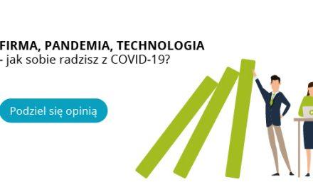 """Raport z badania """"Firma, pandemia, technologia – jak sobie radzisz z COVID-19"""""""